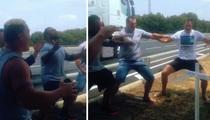 All Blacks -- Emotional War Dance ... To Honor Teammate Killed In Crash