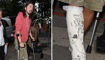 Dave Grohl -- I Got Plastered Good!!! (PHOTO)
