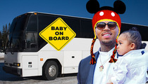 Chris Brown -- Back Off Groupies ... My Bus Is a No Ratchet Zone