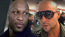 Lamar Odom -- Kardashians Worried Best Friends OD Could Trigger Drug Binge