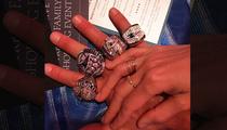 Tom Brady -- Drippin' In Diamonds ... Rocks All 4 SB Rings!!!