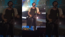 5 Seconds of Summer -- Guitarist Performs Day After He Was Lit On Fire (VIDEO)