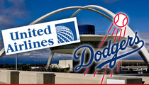 L.A. Dodgers -- Plane Makes Emergency Landing ... After Padres Game