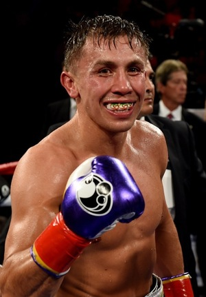 Gennady Golovkin's Fighting Photos