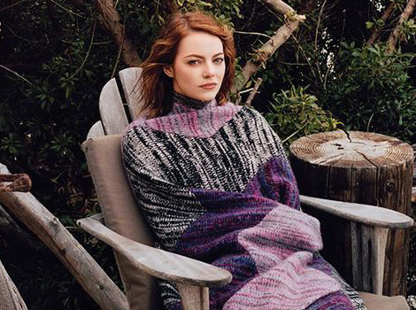 Emma Stone Talks Growing Up With Anxiety, Says It Was 'Really Bad'