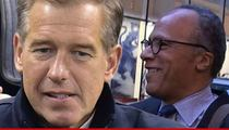 Brian Williams -- Bumped to Cable ... Lester Holt the Winner