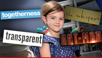 HBO Star Abby Ryder Fortson -- Kid Can Count to 20,000 Every Week ... On Her Paychecks!