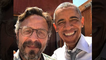 Marc Maron -- Selfie With Obama ... In His Garage