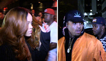 Rihanna and Chris Brown Under Same Roof ... With a Twist (VIDEO)