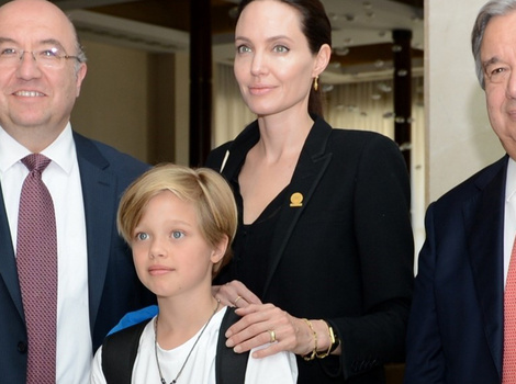 Angelina Jolie Makes Rare Appearance With Daughter Shiloh in Turkey