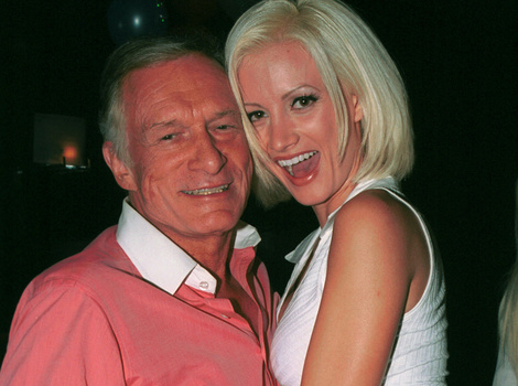 Hugh Hefner Reacts to Holly Madison's Tell-All Book -- Says She's 'Rewriting History'