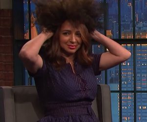 Maya Rudolph Does Her Best Rachel Dolezal Impression on 'Late Night With Seth…