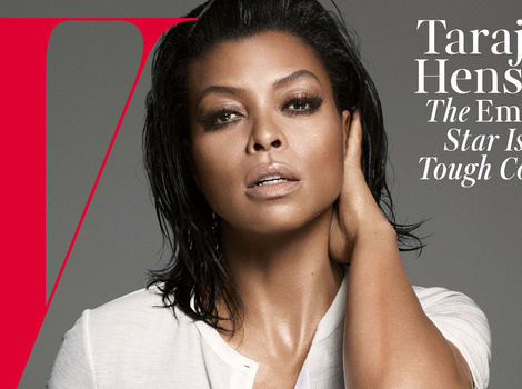 Taraji P. Henson Goes Braless in Super Sexy Spread for W Magazine