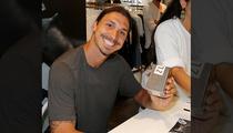 Zlatan Ibrahimovic -- Wanna Smell Like Me? ... Buy My Cologne.