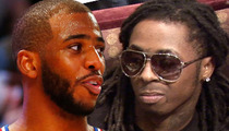 Chris Paul -- Importing Lil Wayne ... For Massive Belated 30th Bday Bash