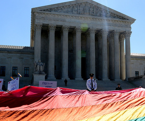 Gay Marriage Legal Across the United States -- Celebrities Celebrate!