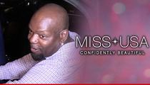 Emmitt Smith -- Bails On Miss USA ... In Wake of Trump Backlash
