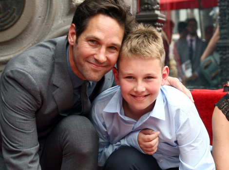 Paul Rudd Gets Walk of Fame Star with Rarely-Seen Family -- See His Cute Kids!