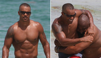 Shemar Moore -- I'm Going Down!! Thanks a Ton, Homie (PHOTOS)