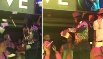 NFL's Jamaal Charles -- Fireworks At the Strip Club
