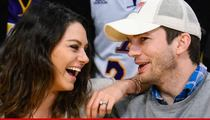 Ashton Kutcher & Mila Kunis -- Married for Real This Time