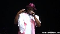 Bobby Brown -- Struggles in Concert as Bobbi Kristina Hangs on to Life (VIDEO)