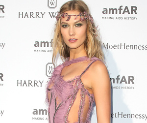 Karlie Kloss Goes Without Underwear, Shows Serious Skin at amfAR Paris Event