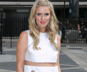 Whoops! Nicky Hilton Flashes Her Underbutt at Versace Show in Paris