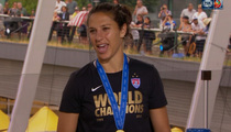 Carli Lloyd -- Banned Fiance From Final Game ... 'No Distractions'