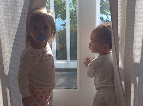 Kim And Kourtney Kardashian Share Adorable Photos Of Penelope Disick For Her…