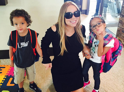 Mariah Carey Takes Twins to First Day of Summer School -- They're So Big Now!