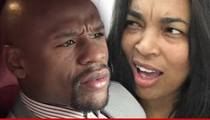 Floyd Mayweather -- I Never Said Ex was 'Drug Abuser' ... Just 'On Drugs'