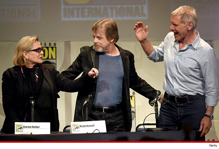 view download images  Images Harrison Ford at Comic-Con -- Trust Me Guys ... I Can Still Fly the Millennium Falcon (PHOTO)   TMZ.com
