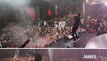 James Harden and Lamar Odom -- Eskimo Brothers Convention at Meek Mill Show