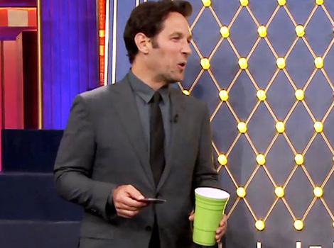 You've Gotta See Paul Rudd Chug a Cup of Gravy