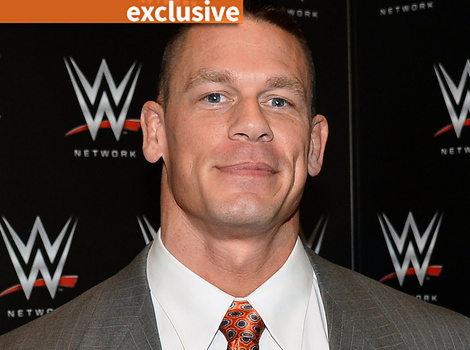 John Cena Teases 'Trainwreck' Nude Scene -- And Why He Was So Nervous About It!