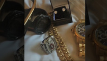 Ohio State QB Cardale Jones -- That's a LOT of Jewelry ... For a College Kid