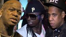 Birdman vs. Jay Z ... Cash Money Suing Tidal Over Lil Wayne