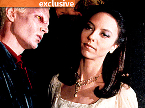 'Buffy' Star Juliet Landau: One Fan Legally Changed Her Name to Drusilla!