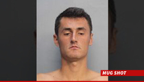 Tennis Star Bernard Tomic -- Arrested In Miami ... After Hotel Penthouse Rager!!!