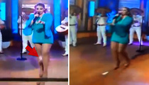 Mexican Singer Patricia Navidad -- Drop By My Pad ... Menstrual Nightmare On-Air!! (VIDEO)