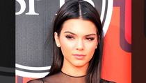 Kendall Jenner -- I Got a New Accessory ... Nipple Ring!!! (PHOTO)