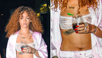 Rihanna -- There's a Little Nip in the Air (PHOTO)