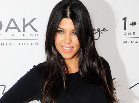 Kourtney Kardashian Rides a Scooter in a Sexy Swimsuit
