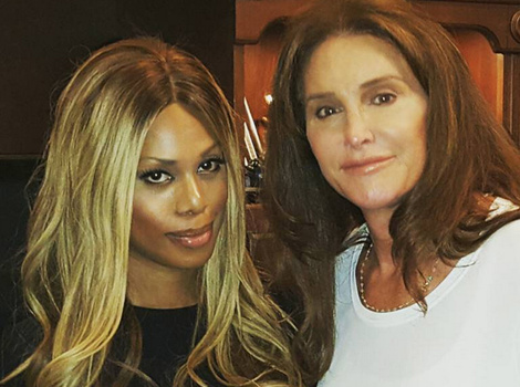 Laverne Cox Says Caitlyn Jenner's Transition Has Gone 'Beautifully,' Calls Her a 'Sweet…