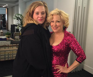Bette Midler Is Adele's New Celebrity BFF -- See the Cute Pic!