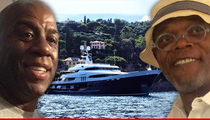 Magic Johnson's Mega-Yacht -- $500k-Per-Week (Insane Update)