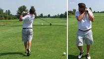 Golfer Gets a Birdie ... And Kills It (VIDEO)