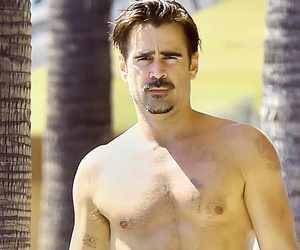 Colin Farrell Flaunts Shirtless Physique After Gaining (and Then Losing) Weight…