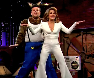 Paula Abdul Recreates Her 'Opposites Attract' Music Video -- See James Corden…